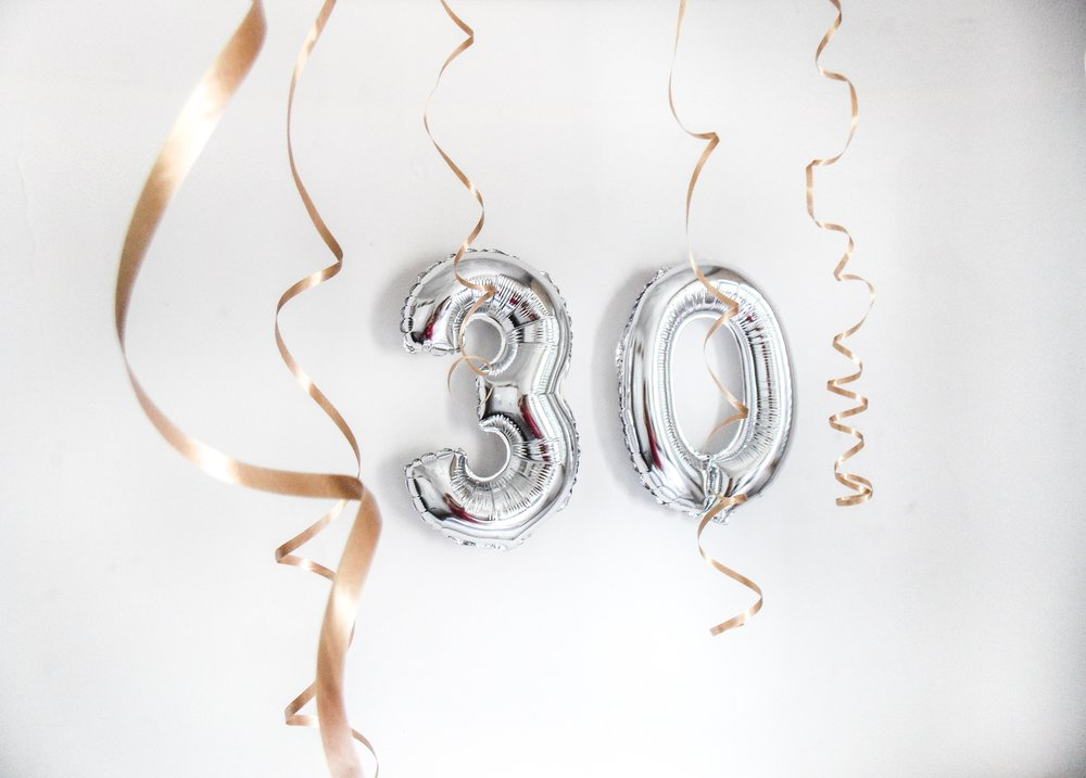 THIS IS THIRTY - WHETHER YOU'RE IN YOUR THIRTIES OR APPROACHING THEM, THIS ONE'S FOR YOU.
