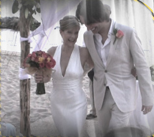 "I walked down the aisle to Stevie Wonder's ""You and I"", Puerto Vallarta, MX"