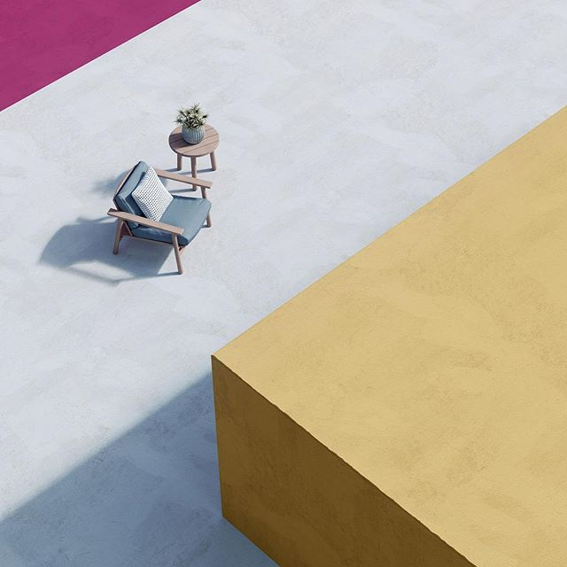 Playing with methodologies of product rendering.  #kettal #riva #coronarender #3dmax #differentpictures #pastel #mediterranean #rendering #cgi #london #fun #yay #composition #photography #archviz #architecturalvisualization #product #table #architecture #visualisation #furniture #graphicdesign #texture #sketch