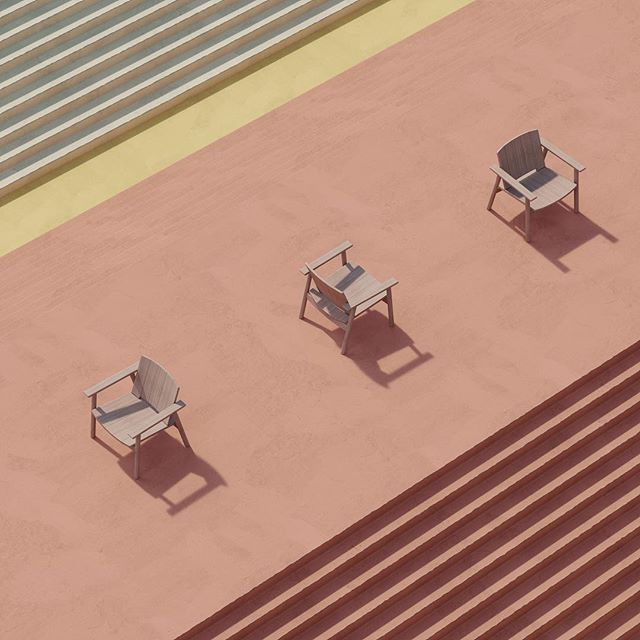 Playing with methodologies of product rendering.  #kettal #riva #coronarender #3dmax #differentpictures #pastel #mediterranean #rendering #cgi #london #fun #yay #composition #photography #archviz #architecturalvisualization #product #table #architecture #visualisation #furniture #graphicdesign #texture #sketch #dezeen #archdaily