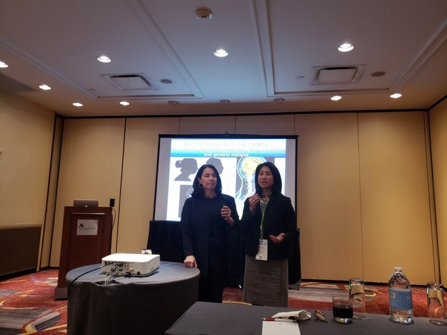 Dr. Cortes & Alice Limkakeng (CEO of Sleep ArchiTx)