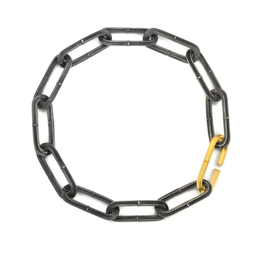 Crossbeam Link Necklace - 2017