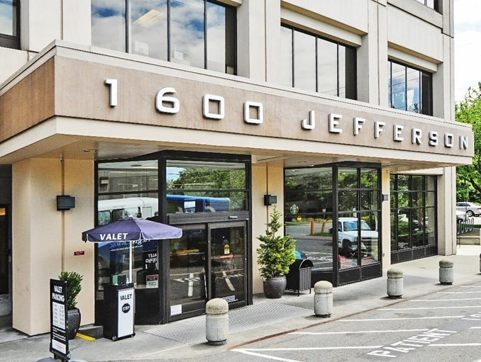 Entrance to Jefferson Tower
