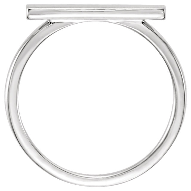 Signet Ring: Bar-shape