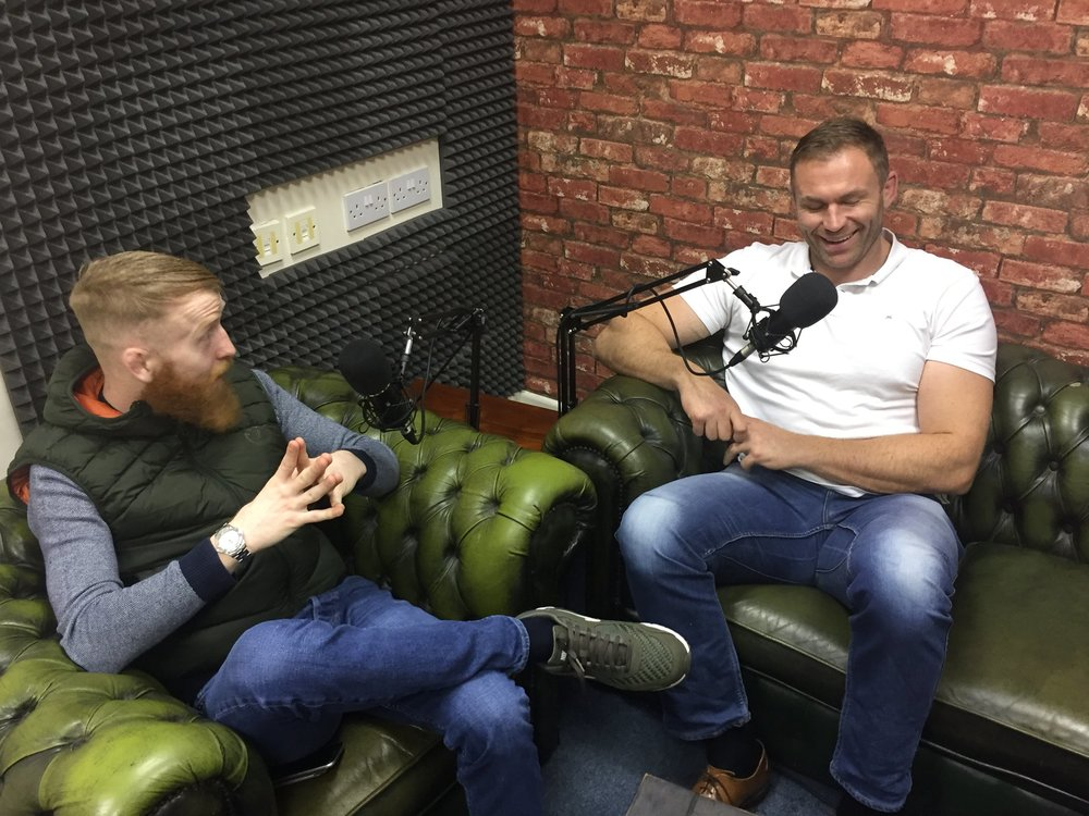 For episode 1 of the new and improved 'No Shame' podcast Paddy sat with former professional rugby player turned adventurer Damian brown. Damian soon sets sail on a solo transatlantic row. Follow paddy on Limor to hear this fantastic podcast.