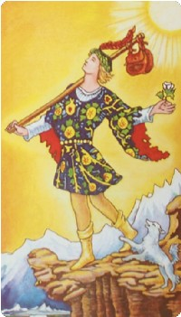 The Fool - photo source: Biddy Tarot