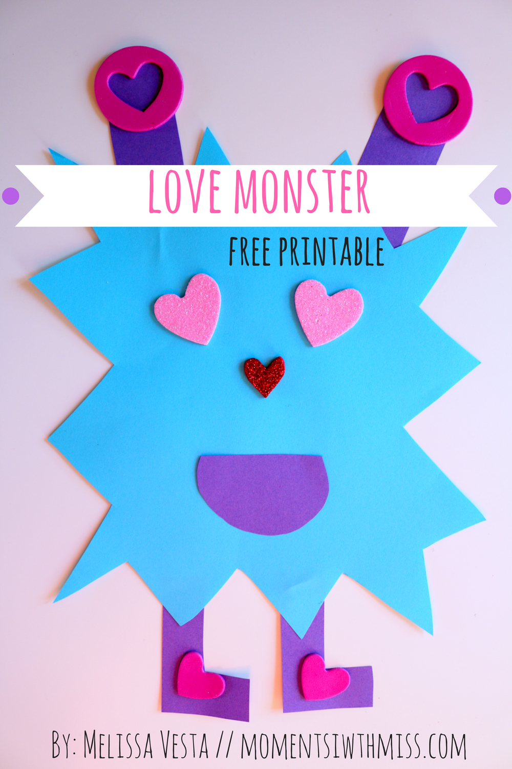 image regarding Printable Monster titled Take pleasure in Monster [No cost Printable] Times with Pass up