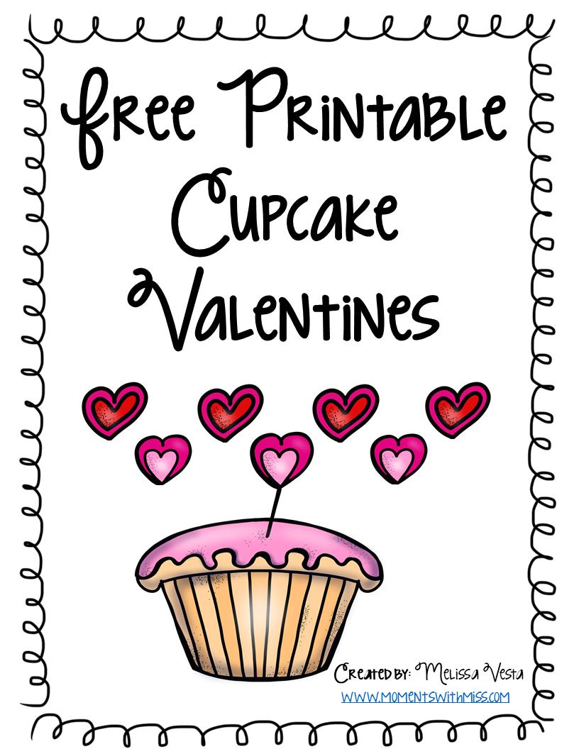 Printable Valentines - Cupcakes.png