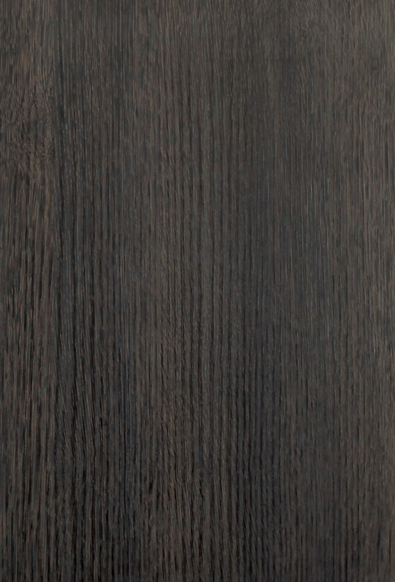 Thermo Structured Surface Two sides - Woodline Slab   Ebony
