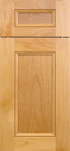 Bridgeport Clear Alder - Natural Stain & Wood Doors - Bridgeport Style \u2014 Hertco Kitchens LLC