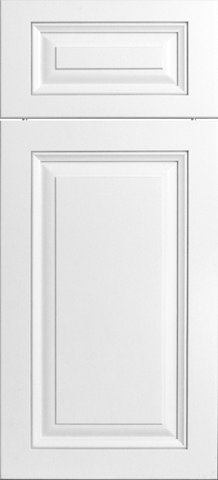 Painted Wood Door - Heirloom Series - Bridgeport - Superwhite - No Rub Through