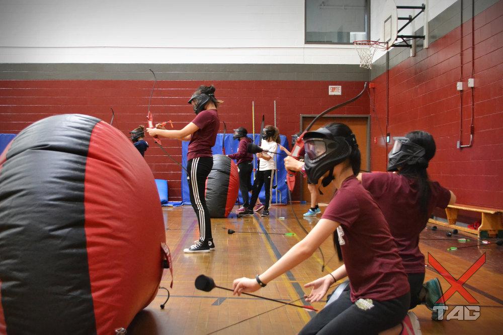 Licence Scolaire 3 tag à l'arc archery tag montréal montreal québec jeunesse enfant camp ligue sport dodgebow combat d'archer.jpg