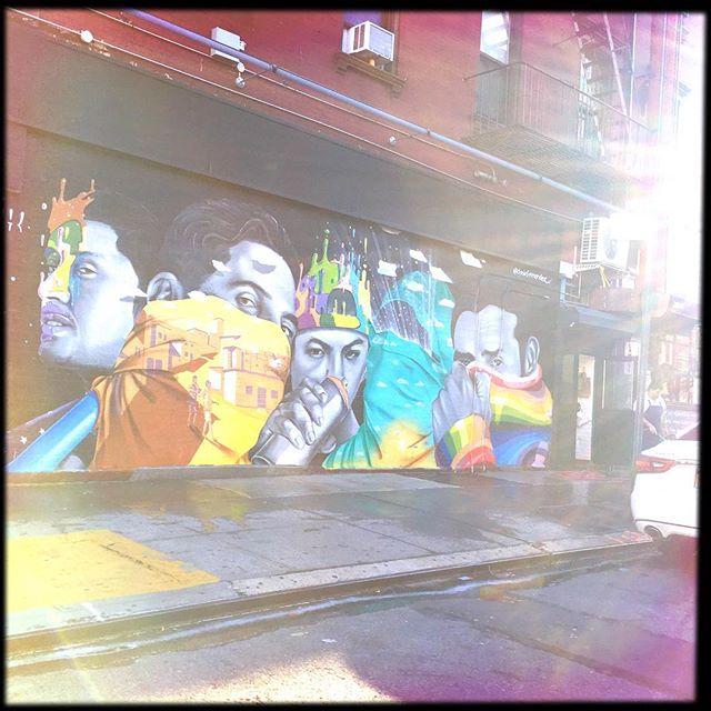 URBAN ART . . . . #CROOKEDGALAXYCROWN #hipstamatic #photography #NYC #neighborhood #photos #random #newyorkcity #perspective #manhattan #chelsea #tribeca #midtown #uppereastside #upperwestside #westvillage #architecture #murals #buildings