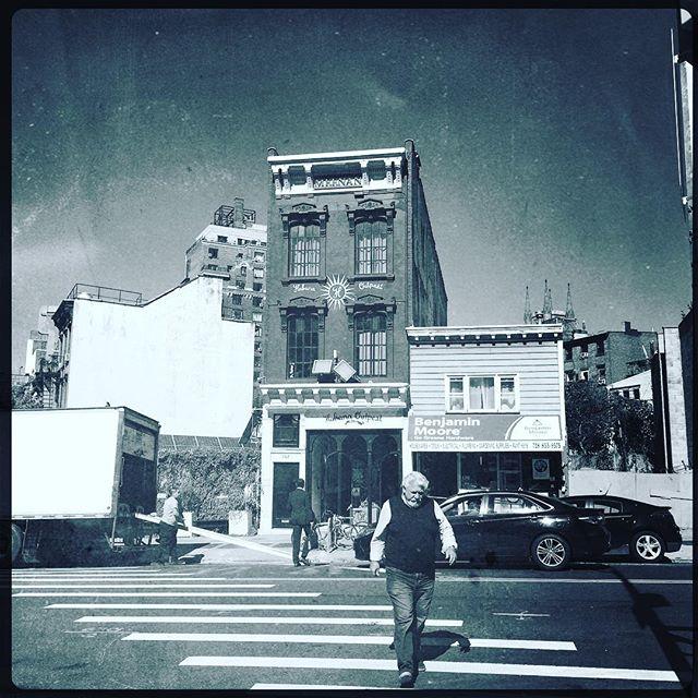 CROSSWALK . . . . #CROOKEDGALAXYCROWN #hipstamatic #photography #NYC #neighborhood #photos #random #newyorkcity #perspective #ridgewood #bushwick #queens #brooklyn