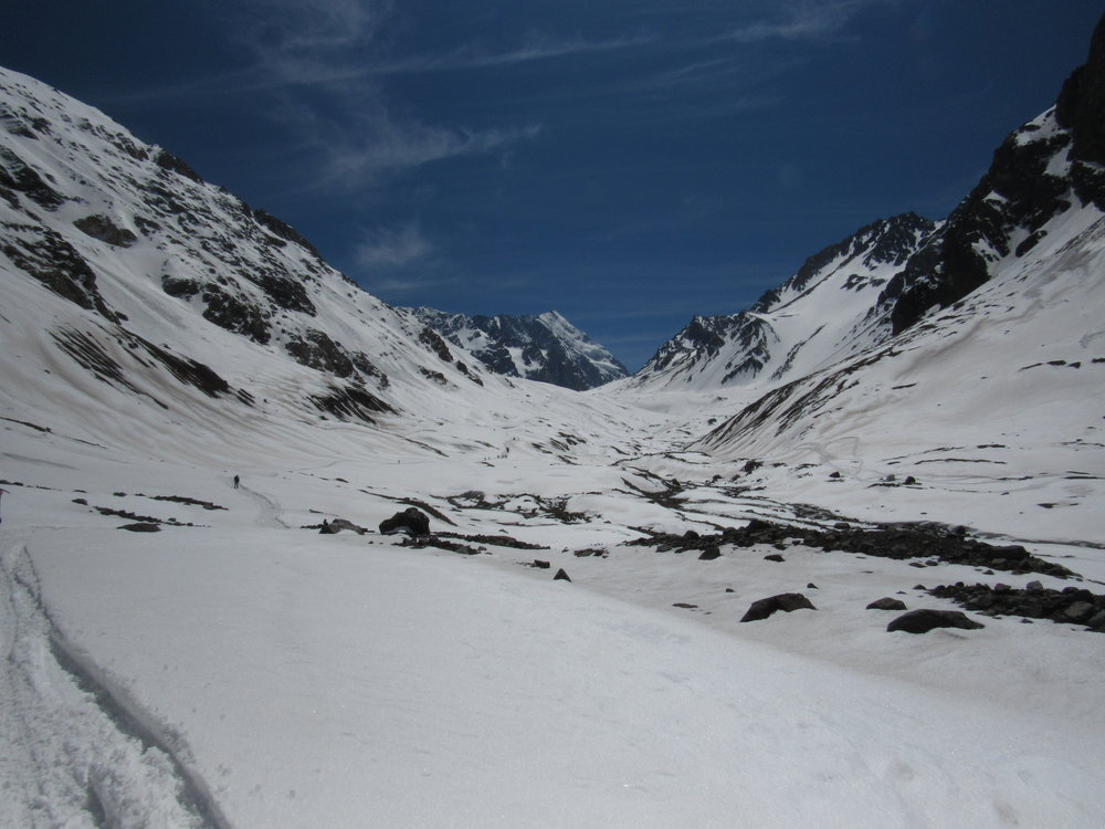 Valle De Las Arenas, Cajón Del Maipo, Chile.JPG