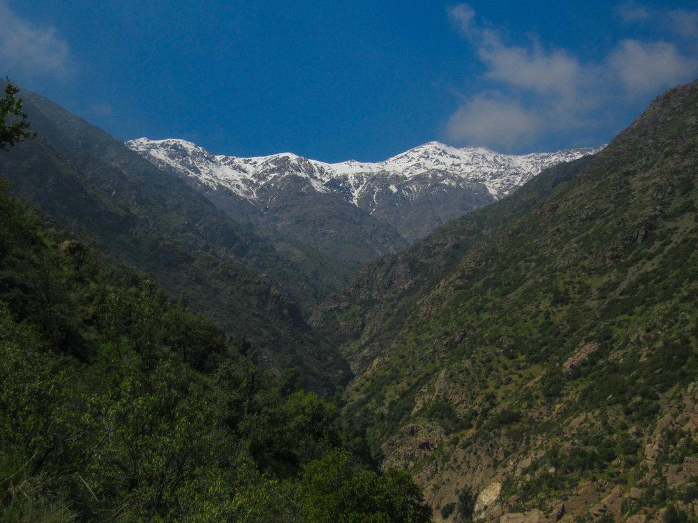 Aguas De Maqui, Quebrada De Macul, Santiago, Chile.jpg
