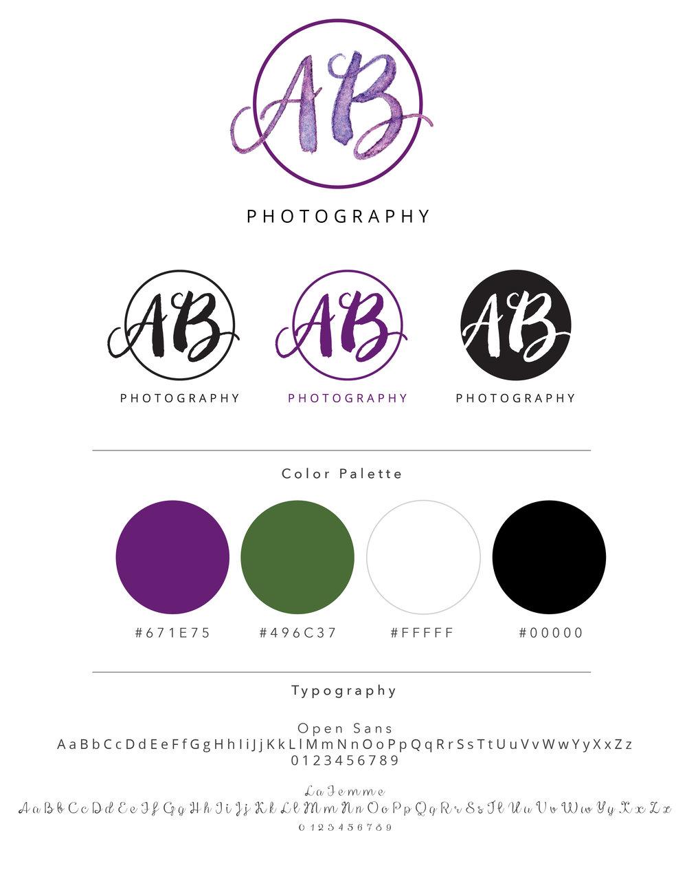 logo, logo design, brand, branding, watercolor logo, handdrawn logo, photographer logo, photography logo