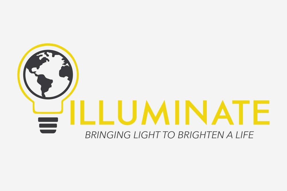 Nonprofit Branding | Lightbulb Logo | Illuminate
