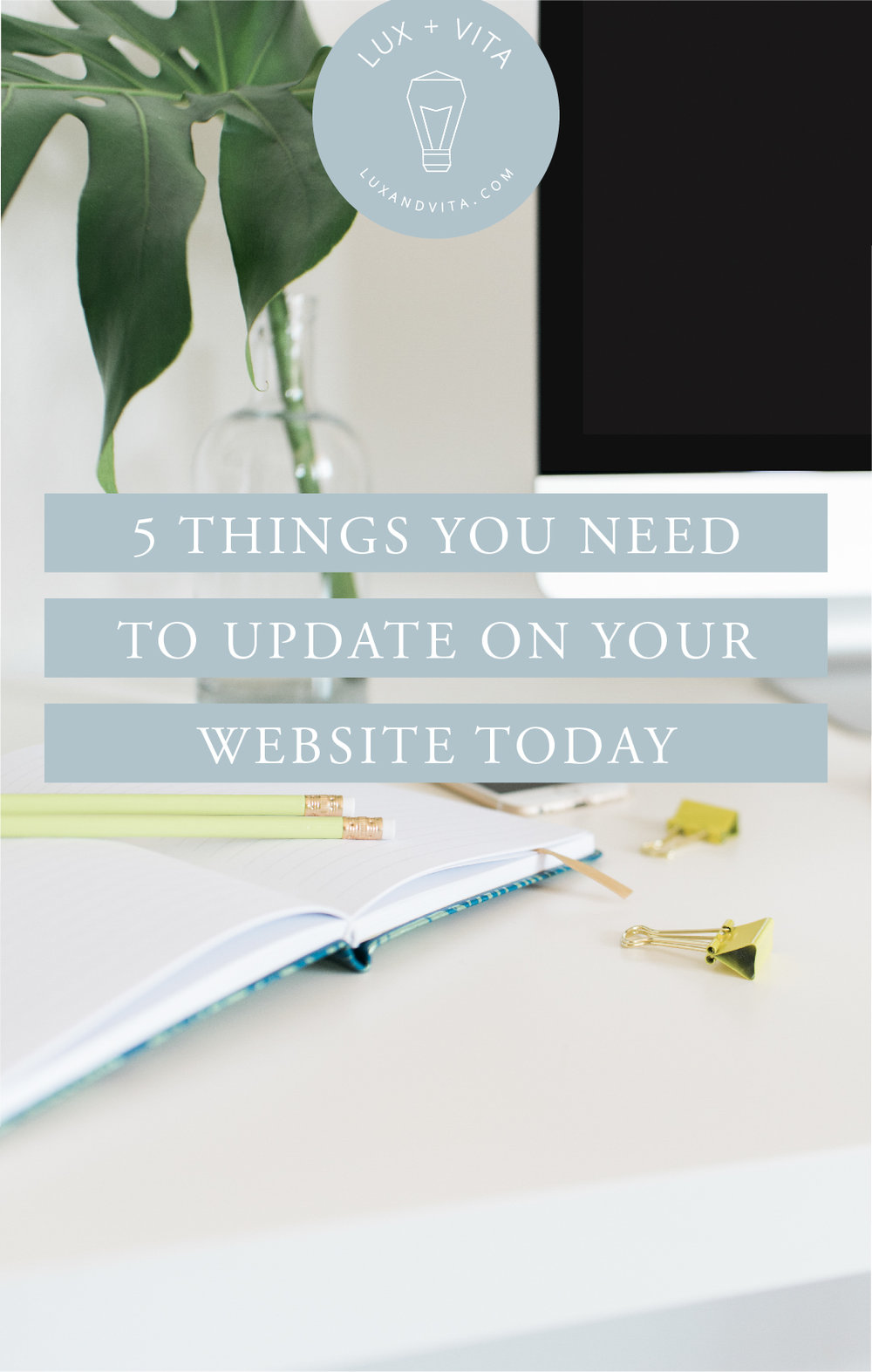 5 things to update on your website today