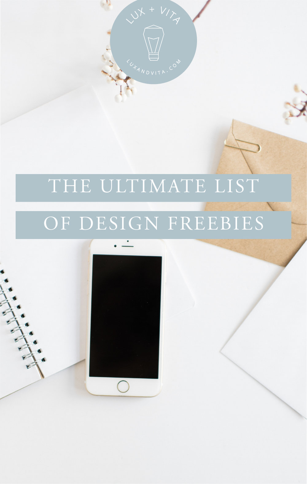 Ultimate List of Design Freebies #graphicdesign #freephotos #freevectors #freevideo #freeaudio #freefonts