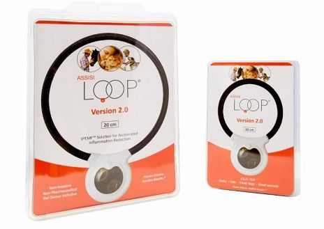 Assisi Loop - - The Assisi Loop® is an FDA-cleared Non-Pharmaceutical Anti-Inflammatory Device (NPAID®).- Safe to use with medications or other modalities (laser, acupuncture)- Requires a veterinary prescription to order