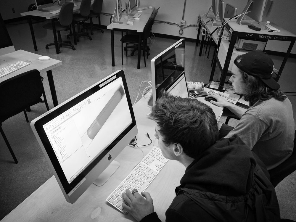 3D modeling that clip design