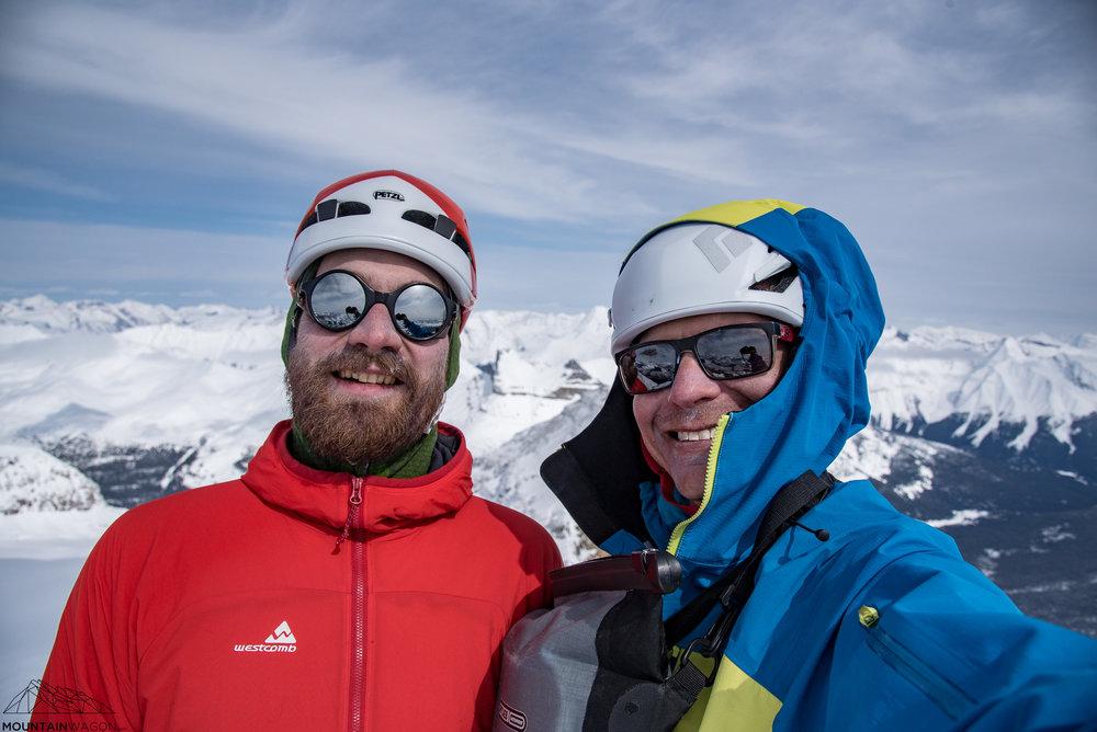 Summit selfies are the best selfies