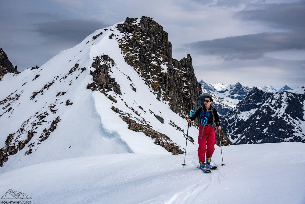 Endless alpine on our ski touring trip through Norway.