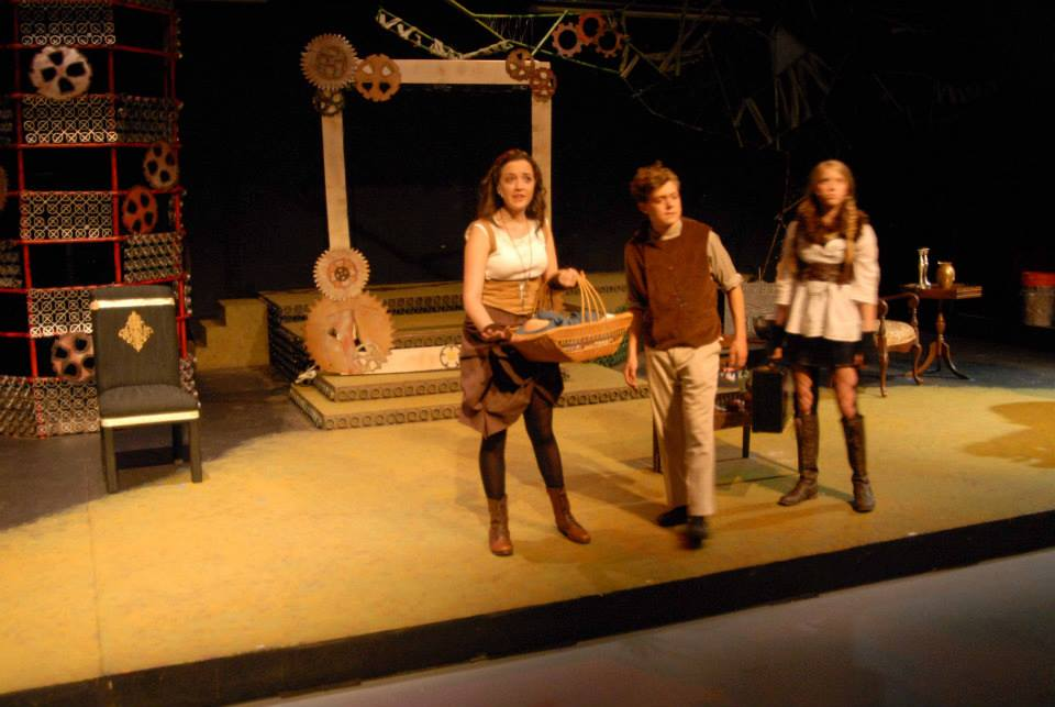 A steampunk-style Into the Woods was the last show I worked on with CenterStage Theater Company in Colorado.  I also did a more traditional fairytale-style version of this show while I was in undergrad with the JHU Barnstormers.