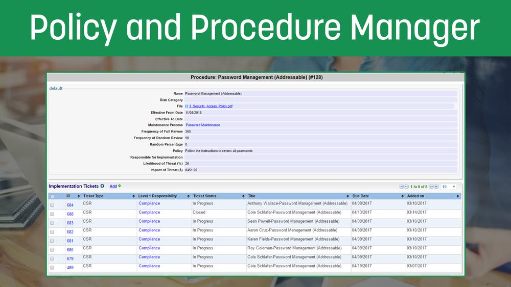 Policy&ProcedureManager