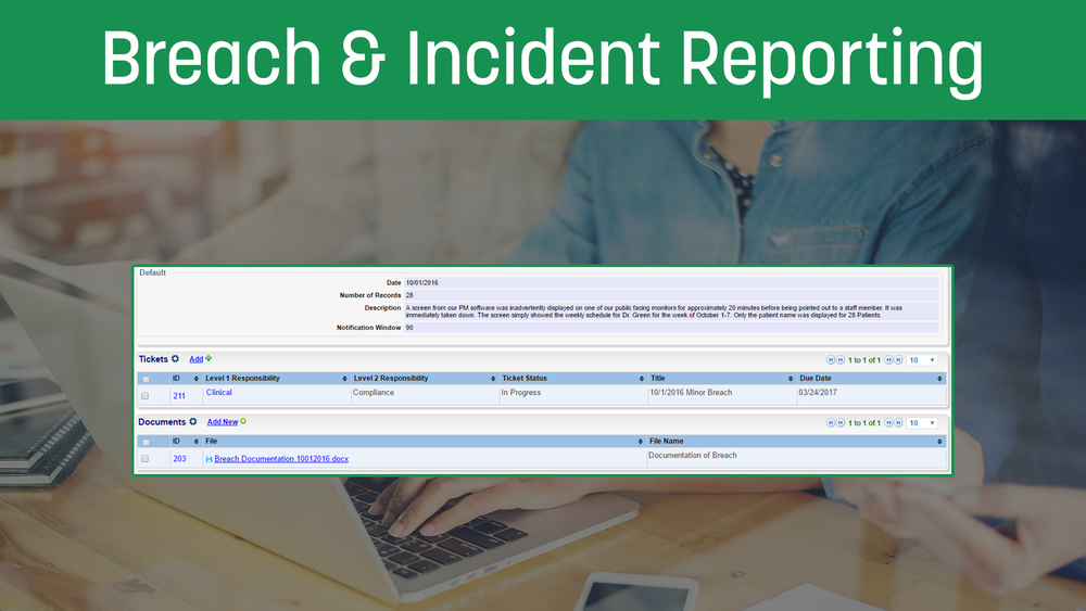 Breach&IncidentReporting