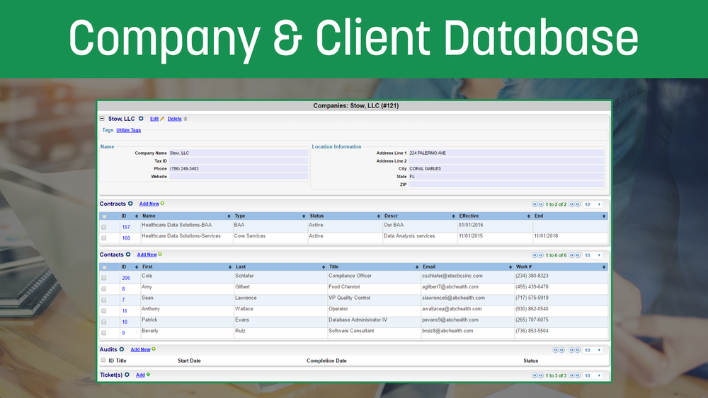 Company&ClientDatabase