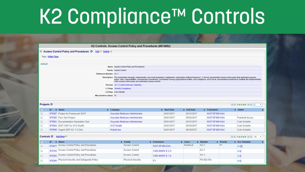 K2ComplianceControls