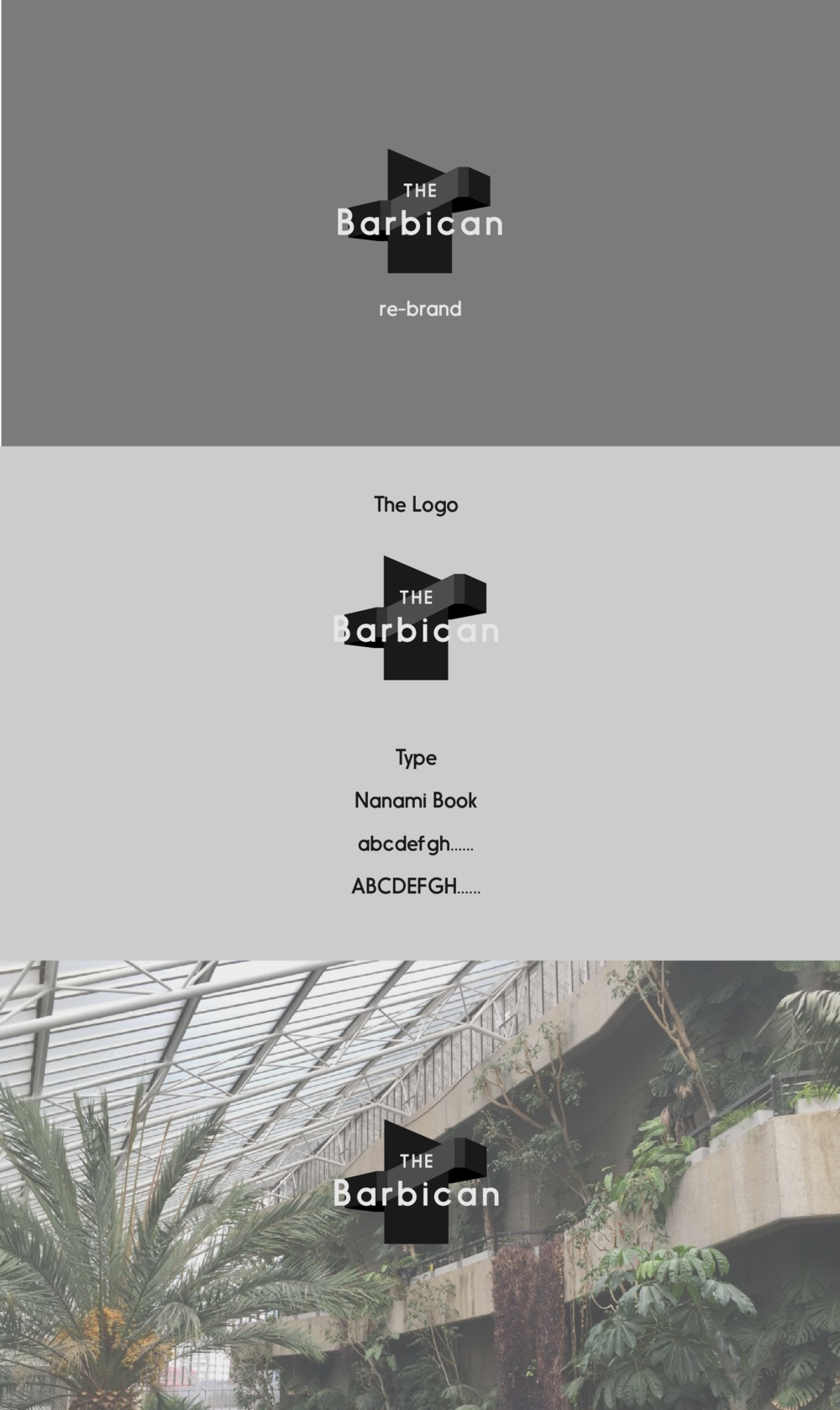 Barbican re-brand style sheet -