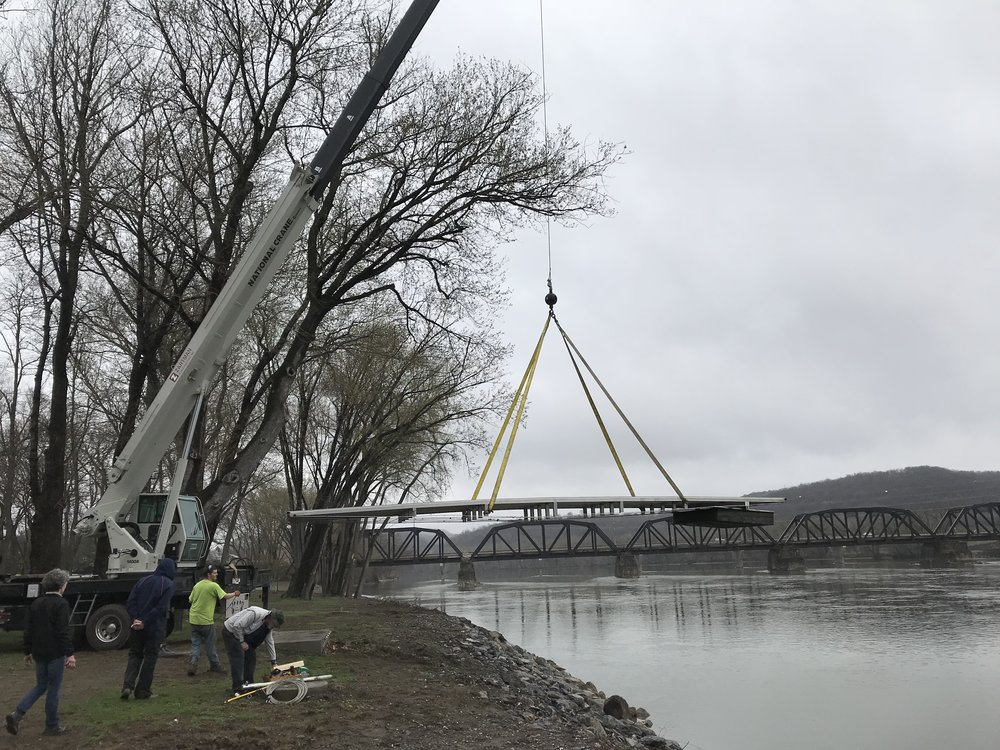 Crane To Remove Ramp Central Pa Rowing Association