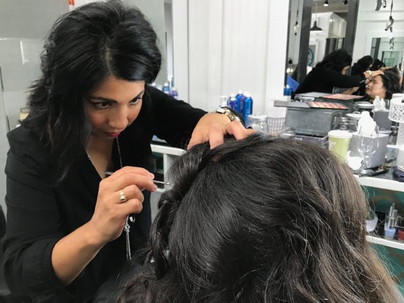 Rebecca Ojeda, owner of Salon One 12