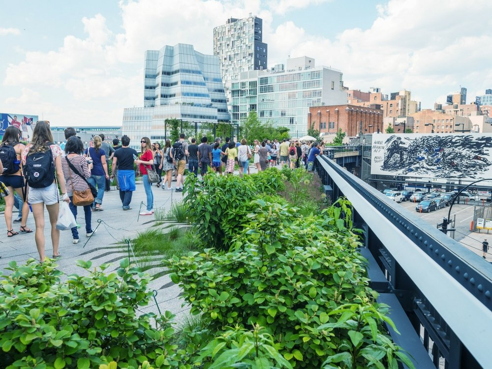 highline tour - nyc
