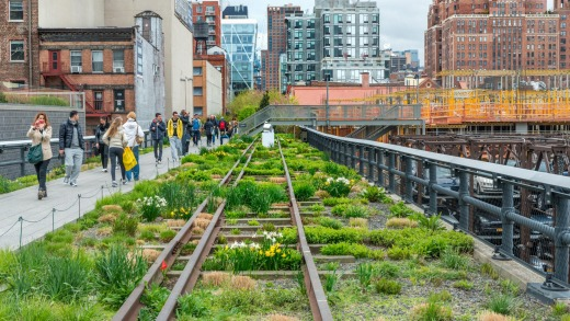 Highline New York City