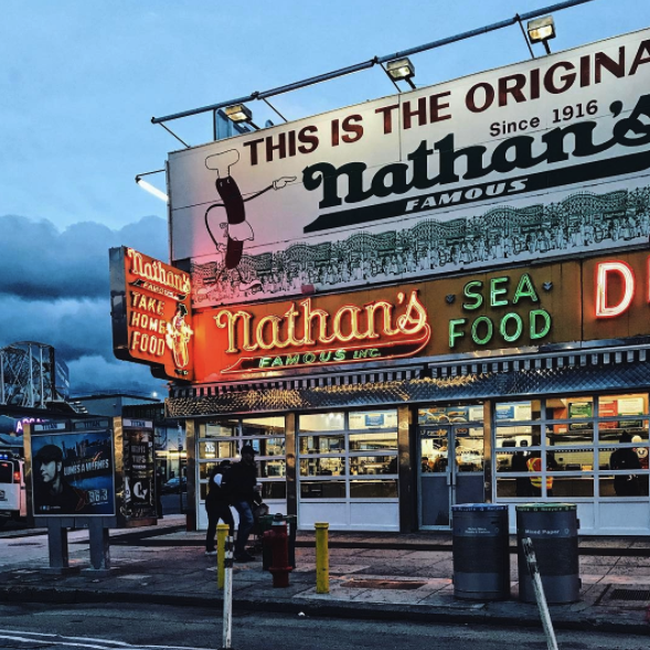 Nathan's Famous Coney Island Brooklyn