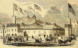 Franconi's Hippodrome / 1853