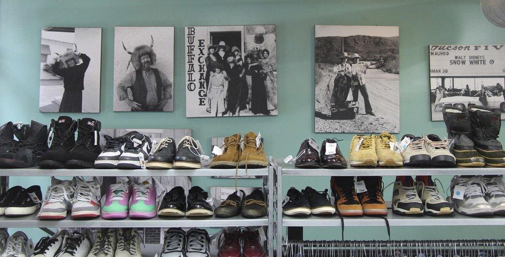 Williamsburg Brooklyn Vintage Shopping - Buffalo Exchange