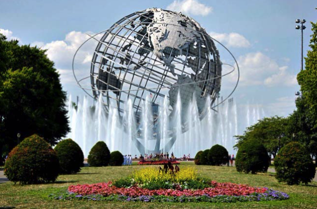 Queens Sculpture - World's Fair - NYC