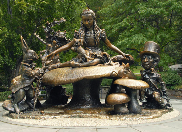 Alice in Wonderland Central Park NYC