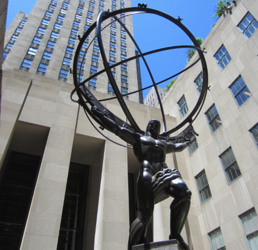 The Atlas Rockefeller Center New York City