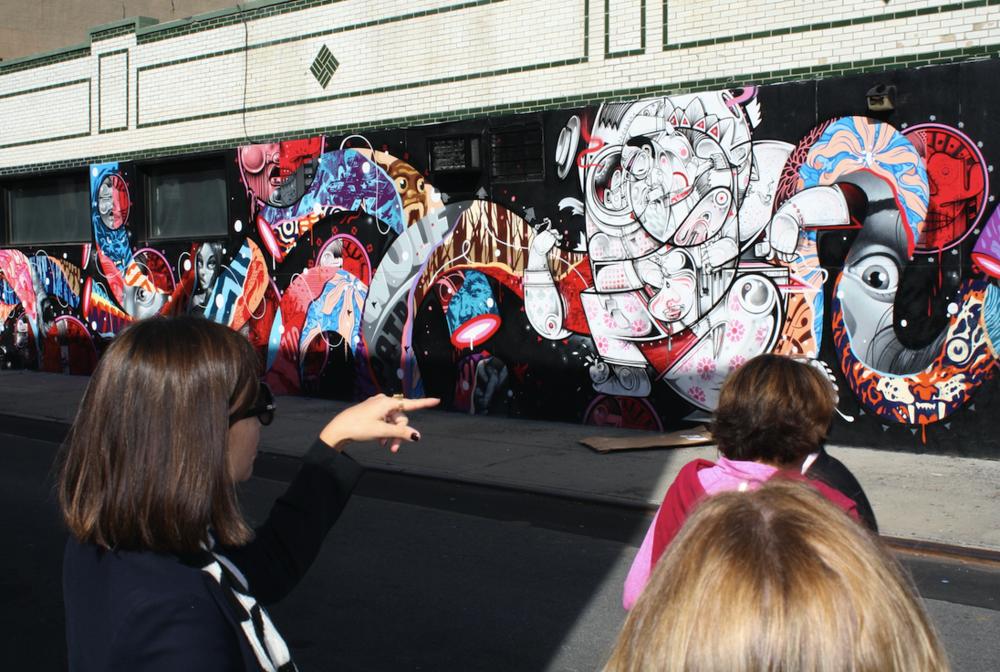 Brooklyn Tour Street Art
