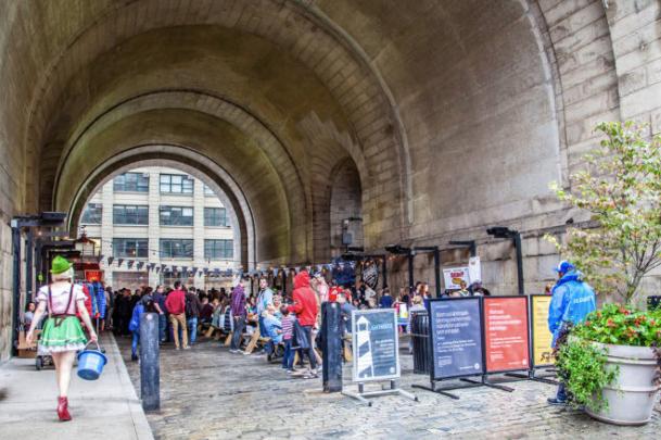 Brooklyn DUMBO Archway