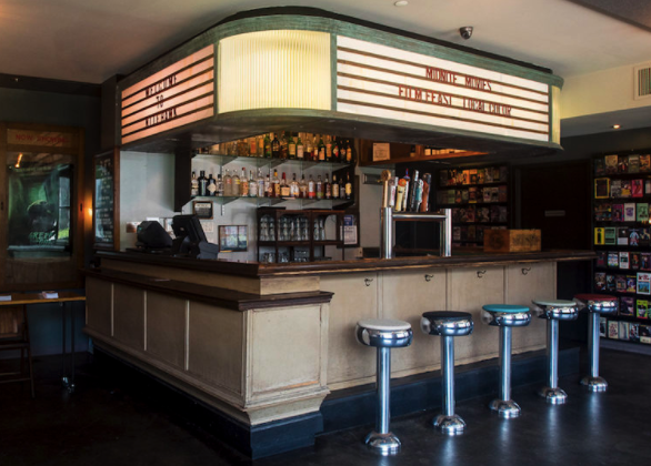 Dinner at the Movies in Brooklyn - Photo: Nitehawk Cinema