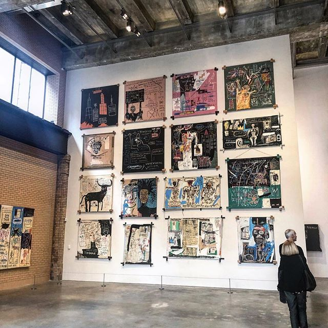 If you're a #Basquiat fan, make sure to check out the exhibit @thebrantfoundation in the #eastvillage. The wait during the weekday isn't bad (earlier is better). And the building is pretty impressive as well. #art . . . . . .  #nyc #explore #explorenyc #travel #traveler #artlover #iloveny #ilovebrooklyn #arttour #local #likealocal #ilovenyc #sightseeing #seeyourcity #traveling #tourism #explorelocal #likealocaltours