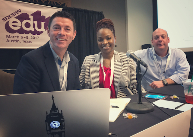 Pictured L to R: Dr. Chris Penny, Dr. Laquana Cooke, and Dr. Jordan Schugar. Not pictured: Dr. Heather Schugar