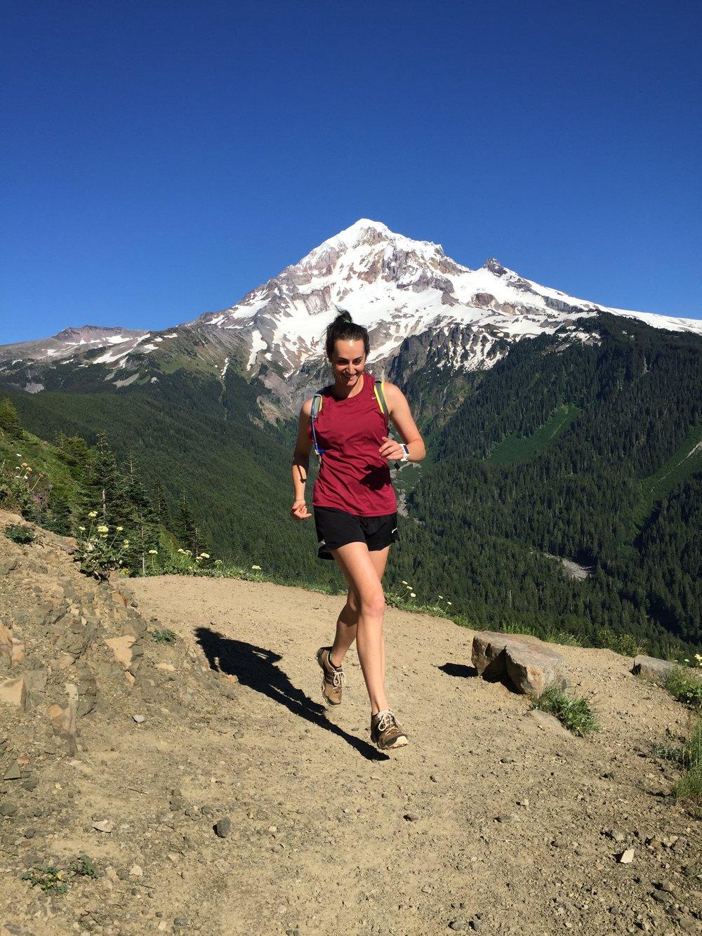 Athlete : Megan;  Occupation : Marketing Manager; Sport : Trail Running
